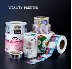 Papier d'impression UV/PVC/PE/vinyle/plastique/hologramme shampooing nettoyant désinfectant de l'impression de la Bière Vin Huile d'olive de lavage du corps de nourriture Toy étiquette adhésive Golden autocollant imprimé