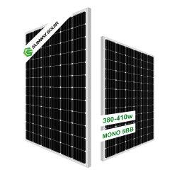 Melhor preço da energia PV 360W 380W 400 watts mono Painel de Energia solar para a fábrica por grosso