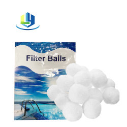 Ácido e alcalino Indústria de resistência a esfera de fibra de vidro a esfera de filtro de fibra de substituição da bomba de areia de filtração de Água de Piscinas