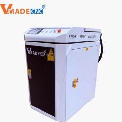 آلة تنظيف ليزر محمولة 100 واط بقدرة 100 واط لتجديد المعادن دون صدأ تنظيف الحجر المتحرك وتمييز الحجر