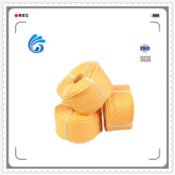 شركة China Factory Stock PP PE Bradted 3 Strands Rope