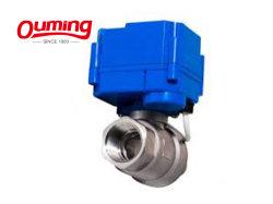 Usine de fournir des prix de gros du gaz de contrôle de vanne à boisseau sphérique
