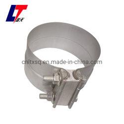 Acero inoxidable/Aluminize Torctite la abrazadera del tubo de escape de acero