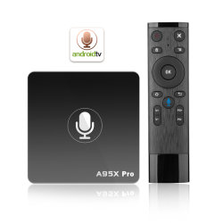 A95X PRO Smart TV Box sistema operativo Android de Google Certificado Widevine