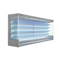 アップライトスーパーマーケットオープンドリンククーラーオープンタイプディスプレイ冷蔵庫