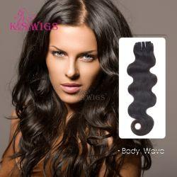 K. S Pelucas una calidad superior de extensión de cabello humano 100% Brasileña Remy cabello humano.