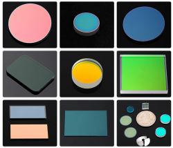 주문을 받아서 만들어진 색깔 유리제 입히는 Uncoated 광학적인 띠통과 커트오프 또는 방해 또는 중립 필터