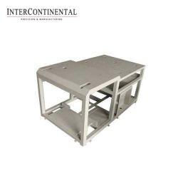Chapa metálica de precisión Fabricaion recubierto de polvo de color personalizado Shell máquina piezas metálicas de servicio de procesamiento