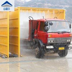 Rondella automatica della rotella del cavalletto dei sistemi della lavata della rotella per il camion resistente