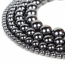 Hematite Beads para bisutería Joyería
