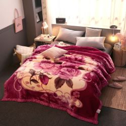 2020 Cheap cómodo Super suave visón Raschel manto para el invierno