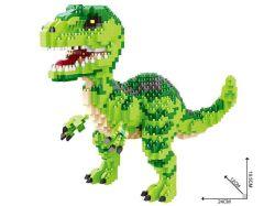 2018 de Hete Vorm van de Dinosaurus van de Blokken van de Verkoop Onderwijs (1457PCS)