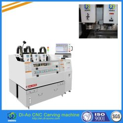 CNC machines de coupe en verre trempé de haute précision, le forage de meulage, le chanfreinage, emplacement