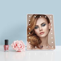 Home Moda LED Cosmetic tasca pieghevole portatile LED illuminato Makeup Speculare