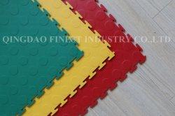 460X460mmの500X500X7mm環境の連結のプラスチックガレージの床タイル/高品質防水PVCすべての新しく物質的な床のビニールのタイル