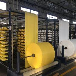 Fabricante de alta qualidade branca de tecido PP sacos tecidos de ráfia Rolo Rolos de airbag