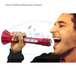 Heißes Verkaufs-Haus bewegliches KTV drahtloses Bluetooth singen Lied-Lautsprecher-Mikrofon