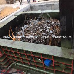 Voiture horizontale hydraulique automatique de mise au rebut de l'aluminium métal Metallugry de cisaillement de la ramasseuse-presse