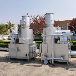 Nenhuma Fumaça a incineração de resíduos hospitalares infecciosos para máquina de tratamento utilizadas luvas hospitalares ligaduras de máscaras de queima de lixo