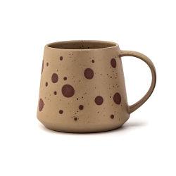 세라믹 찻잔 찻잔 조악한 도기 손으로 그리는 개성 창조적인 찻잔 에티오피아 커피 잔 고정되는 우유 컵