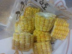 Coupures de maïs sucré surgelés IQF coupe Maïs doux en provenance de Chine