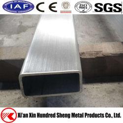 Hl dell'acciaio inossidabile di ASTM AISI304/316 della saldatura rettangolare Finished del tubo