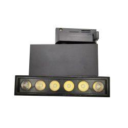 小売店チェーンの記憶装置のための長い寿命LEDトラックライト50000時間の薄暗くするトライアック0-10VおよびDali