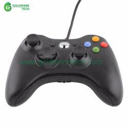 Черный Microsoft XBox 360/xBox Slim 360 контроллера проводной джойстик USB Gamepad установите флажок smart TV Android игры Игры PC Gamer Joypad рекламы