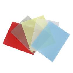 PP 폴리프로필렌 플라스틱 책 바인딩 덮개 프로텍터 장, 노트북 덮개