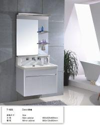 201 Acero Inoxidable 60cm de tamaño pequeño hotel económico Muebles de Baño