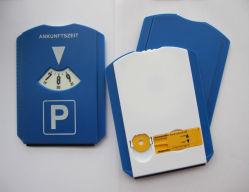 Un parking en plastique du disque Disque Padking Racloir de glace avec puce et manomètre
