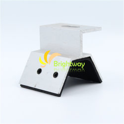 Aaj020 morsetto in alluminio per tetto in acciaio Tile Solar System Installazione