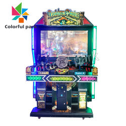 Buntes Park-Verkauf-Videospiel-Maschinen-Vergnügungspark-Säulengang-Schießen