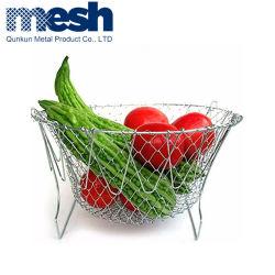 ステンレススチール製野菜ドレンラックフルーツ収納ホルダーキッチン機能バスケット