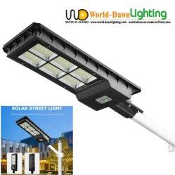 120W180W IP65 Streetlight Solar Integrado Barato preço Jardim de sensor de movimento do LED da lâmpada de luz de estrada Pátio Rural Solar Luz de Rua