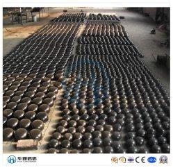 La pression en acier au carbone navire utilisé bas Cap/plat/ Fin de la tête Cap