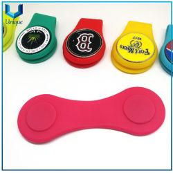 도매 패션 골프 모자 클립, 고무/실리콘 모자 클립, 맞춤형 볼 마커(실리콘 해트클립 포함) 특별 행사 세트