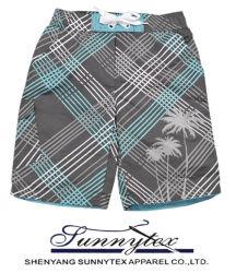 2016 Новый Стиль моды летних мужчин пляж короткое замыкание