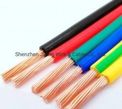 Rhw incaglia il collegare domestico rotondo di rame elettrico elettrico flessibile del cavo di illuminazione isolato PVC della Camera dello smalto della saldatura di potere del conduttore