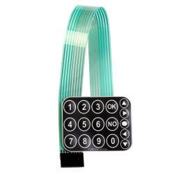 Le panneau des commutateurs à membrane personnalisée pour les produits ligne