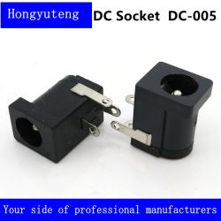 BAD DC005 Anschluss-Kontaktbuchse Gleichstrom-weibliche Aufladeeinheit3 Pin Schaltkarte-Verbinder DC Spannung Jack