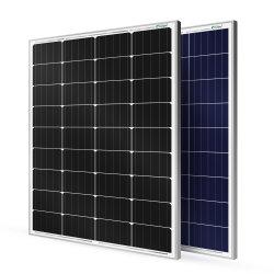 Zonnepaneel, zonnepaneel, 100 W, 110 W, 120 W, 130 W, 140 W, 150 W, 160 W. 200W Home 100 W Mono Poly Prijs