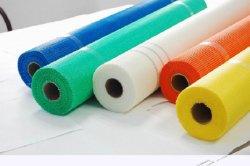 Tipos de barata 160gr el álcali resistente de malla de fibra de vidrio.