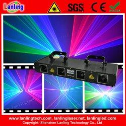 Rgbb vier Haupt-DJ Disco-Partei-Laser