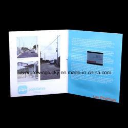 Подарок для бизнеса с помощью ЖК-дисплей видео брошюра