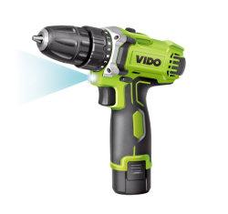 Vido 12V 18V SDSのハンマーの電気スクリュードライバーの影響のスクリュードライバービットドリルはツールの動力工具をあける