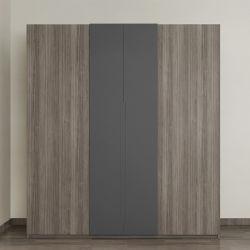 현대적인 휴대용 침실 홈 목재 디자이너 옷장 옷장