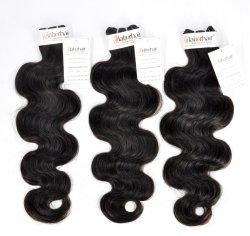 100% naturale brasiliano Virgin Human Hair Extensions Bundle in fabbrica Prezzo con approvazione SGS