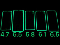 OEM今2020 iPhone 11/iPhone Xs/iPhone X/8/8 Plus/7/7 Plus/6/6のためのガラススクリーンの保護装置をと見つけること容易なほとんどの熱く明るいフィルム夜落下明るい夜