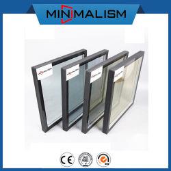 Vidro de têmpera de isolamento duplo 5mm para a porta e janela de alumínio